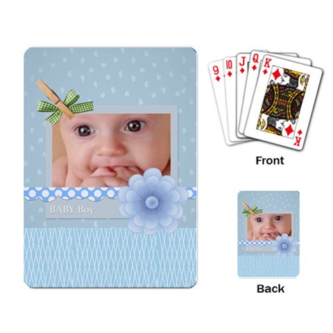 Baby By Joely   Playing Cards Single Design   Nqmtjgj8bi5h   Www Artscow Com Back