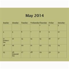 Жорик By Vitaliya   Wall Calendar 11  X 8 5  (12 Months)   Lk9uu8q56liw   Www Artscow Com May 2014