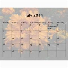 Жорик By Vitaliya   Wall Calendar 11  X 8 5  (12 Months)   Lk9uu8q56liw   Www Artscow Com Jul 2014