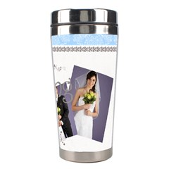 Wedding By Paula Green   Stainless Steel Travel Tumbler   R6l6egbsp6tx   Www Artscow Com Right
