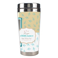 Wedding By Paula Green   Stainless Steel Travel Tumbler   K1pae0kditpg   Www Artscow Com Right