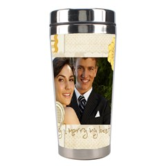 Wedding By Paula Green   Stainless Steel Travel Tumbler   9l1tkzy9ovos   Www Artscow Com Center