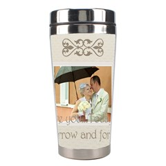 Wedding By Paula Green   Stainless Steel Travel Tumbler   Qakg007gczxa   Www Artscow Com Center
