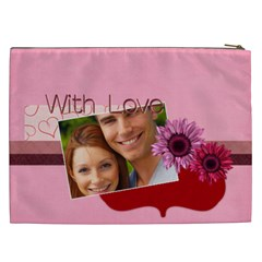 Love By Joely   Cosmetic Bag (xxl)   Riuy14of6092   Www Artscow Com Back
