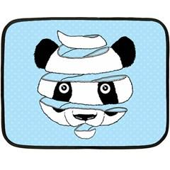 Panda Mini Fleece Blanket (Two Sided) by Contest1732468