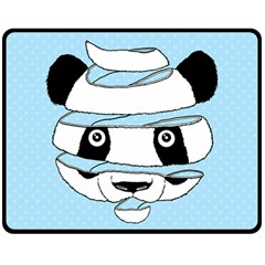 Panda Fleece Blanket (Medium) by Contest1732468