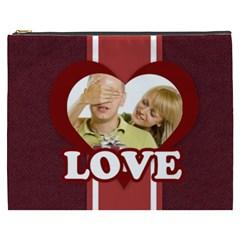 Love By May   Cosmetic Bag (xxxl)   H1yrxyjx5bpv   Www Artscow Com Front