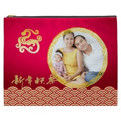 Chinese New Year By Ch   Cosmetic Bag (xxxl)   A5j84lmbcyou   Www Artscow Com Front