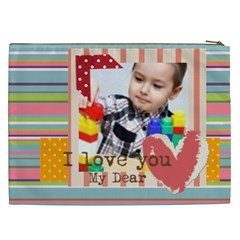 Kids By Kids   Cosmetic Bag (xxl)   Yojtd2lolrac   Www Artscow Com Back