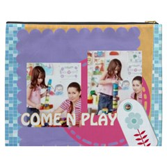 Kids By Kids   Cosmetic Bag (xxxl)   O811m4lpqw3s   Www Artscow Com Back