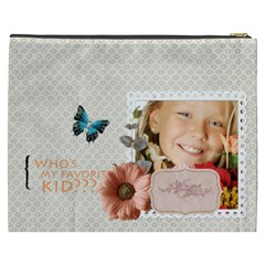 Kids By Kids   Cosmetic Bag (xxxl)   Is2eixr4b2im   Www Artscow Com Back