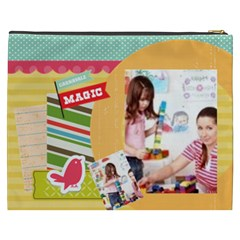 Kids By Kids   Cosmetic Bag (xxxl)   Rc9cjfdmqegp   Www Artscow Com Back
