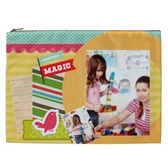 Kids By Kids   Cosmetic Bag (xxl)   Pef4dun9srm5   Www Artscow Com Front