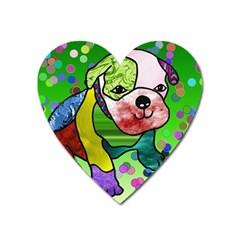 Pug Magnet (heart) by Siebenhuehner