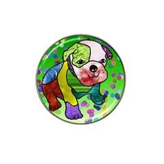 Pug Golf Ball Marker 4 Pack (for Hat Clip) by Siebenhuehner