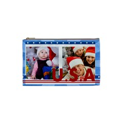 Usa By Mac Book   Cosmetic Bag (small)   4zdxooy644hy   Www Artscow Com Front