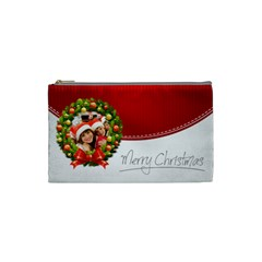 Xmas By Mac Book   Cosmetic Bag (small)   L2l23n6qetzy   Www Artscow Com Front