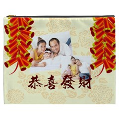 Chinese New Year By Ch   Cosmetic Bag (xxxl)   61qe0boxuty5   Www Artscow Com Front