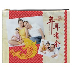 Chinese New Year By Ch   Cosmetic Bag (xxxl)   0uyvcuonckfh   Www Artscow Com Front
