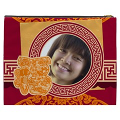 Chinese New Year By Ch   Cosmetic Bag (xxxl)   Vey5n7fjh7io   Www Artscow Com Back