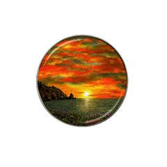 Alyssa s Sunset by Ave Hurley ArtRevu - Hat Clip Ball Marker (10 pack) by ArtRave2