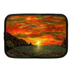 Alyssa s Sunset By Ave Hurley Artrevu   Netbook Case (medium) by ArtRave2