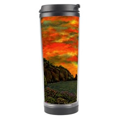 Alyssa s Sunset By Ave Hurley Artrevu   Travel Tumbler by ArtRave2