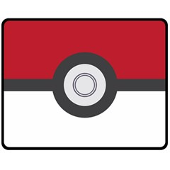 Pokeball Blanket Fleece Blanket (medium) by Contest1630545