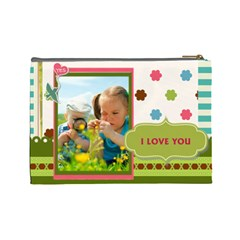 Kids By Kids   Cosmetic Bag (large)   Nuhu2ncokkwo   Www Artscow Com Back