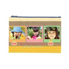 Kids By Kids   Cosmetic Bag (large)   Ilgb7v19ssqs   Www Artscow Com Front