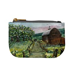 amish Apple Blossoms  By Ave Hurley Of Artrevu   Mini Coin Purse by ArtRave2