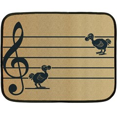 Octave Dodos Mini Fleece Blanket (two Sided) by Contest1732250