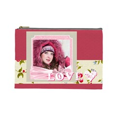 Love By Ki Ki   Cosmetic Bag (large)   Lhgk5quv7xir   Www Artscow Com Front
