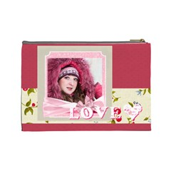 Love By Ki Ki   Cosmetic Bag (large)   Lhgk5quv7xir   Www Artscow Com Back