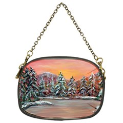 Jane s Winter Sunset   by Ave Hurley of ArtRevu ~ Chain Purse (One Side)