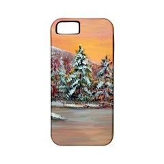 jane s Winter Sunset   By Ave Hurley Of Artrevu   Apple Iphone 5 Classic Hardshell Case (pc+silicone) by ArtRave2