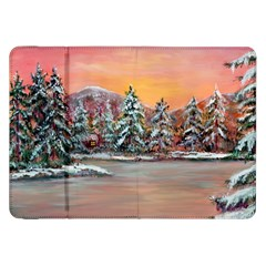 jane s Winter Sunset   By Ave Hurley Of Artrevu   Samsung Galaxy Tab 8 9  P7300 Flip Case by ArtRave2