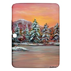 jane s Winter Sunset   By Ave Hurley Of Artrevu   Samsung Galaxy Tab 3 (10 1 ) P5200 Hardshell Case  by ArtRave2