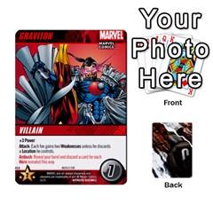 Jack Dcdb Avengers 1 By Mark   Playing Cards 54 Designs   Zmxg4767u1dp   Www Artscow Com Front - DiamondJ