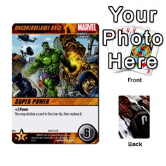 Dcdb Avengers 2 By Mark   Playing Cards 54 Designs   27jtnrs7ay16   Www Artscow Com Front - Heart3