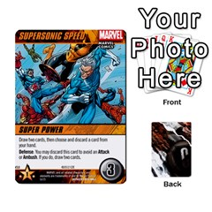 Dcdb Avengers 2 By Mark   Playing Cards 54 Designs   27jtnrs7ay16   Www Artscow Com Front - Heart6