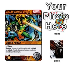 Ace Dcdb Avengers 2 By Mark   Playing Cards 54 Designs   27jtnrs7ay16   Www Artscow Com Front - HeartA