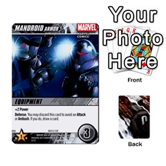 Dcdb Avengers 2 By Mark   Playing Cards 54 Designs   27jtnrs7ay16   Www Artscow Com Front - Club9