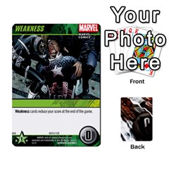 Dcdb Avengers 3 By Mark   Playing Cards 54 Designs   N6h1537o1u3x   Www Artscow Com Front - Spade2