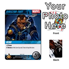 Jack Dcdb Avengers 3 By Mark   Playing Cards 54 Designs   N6h1537o1u3x   Www Artscow Com Front - DiamondJ