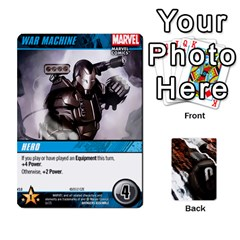 Jack Dcdb Avengers 3 By Mark   Playing Cards 54 Designs   N6h1537o1u3x   Www Artscow Com Front - ClubJ