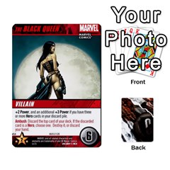 Dcdb Xmen 2 By Mark   Playing Cards 54 Designs   Kz0lqsxp42ru   Www Artscow Com Front - Heart5