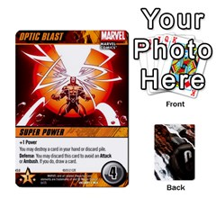 Dcdb Xmen 2 By Mark   Playing Cards 54 Designs   Kz0lqsxp42ru   Www Artscow Com Front - Spade4