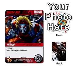 Dcdb Xmen 2 By Mark   Playing Cards 54 Designs   Kz0lqsxp42ru   Www Artscow Com Front - Heart10