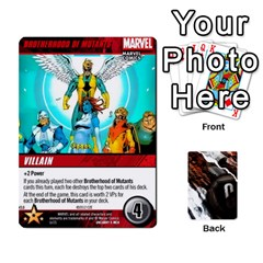 King Dcdb Xmen 2 By Mark   Playing Cards 54 Designs   Kz0lqsxp42ru   Www Artscow Com Front - HeartK